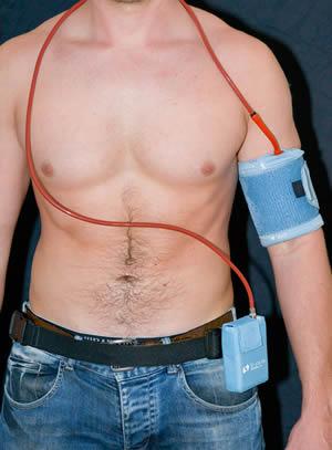 24 Stunden Blutdruckmessgerät Herzkreislaufinstitut Graz